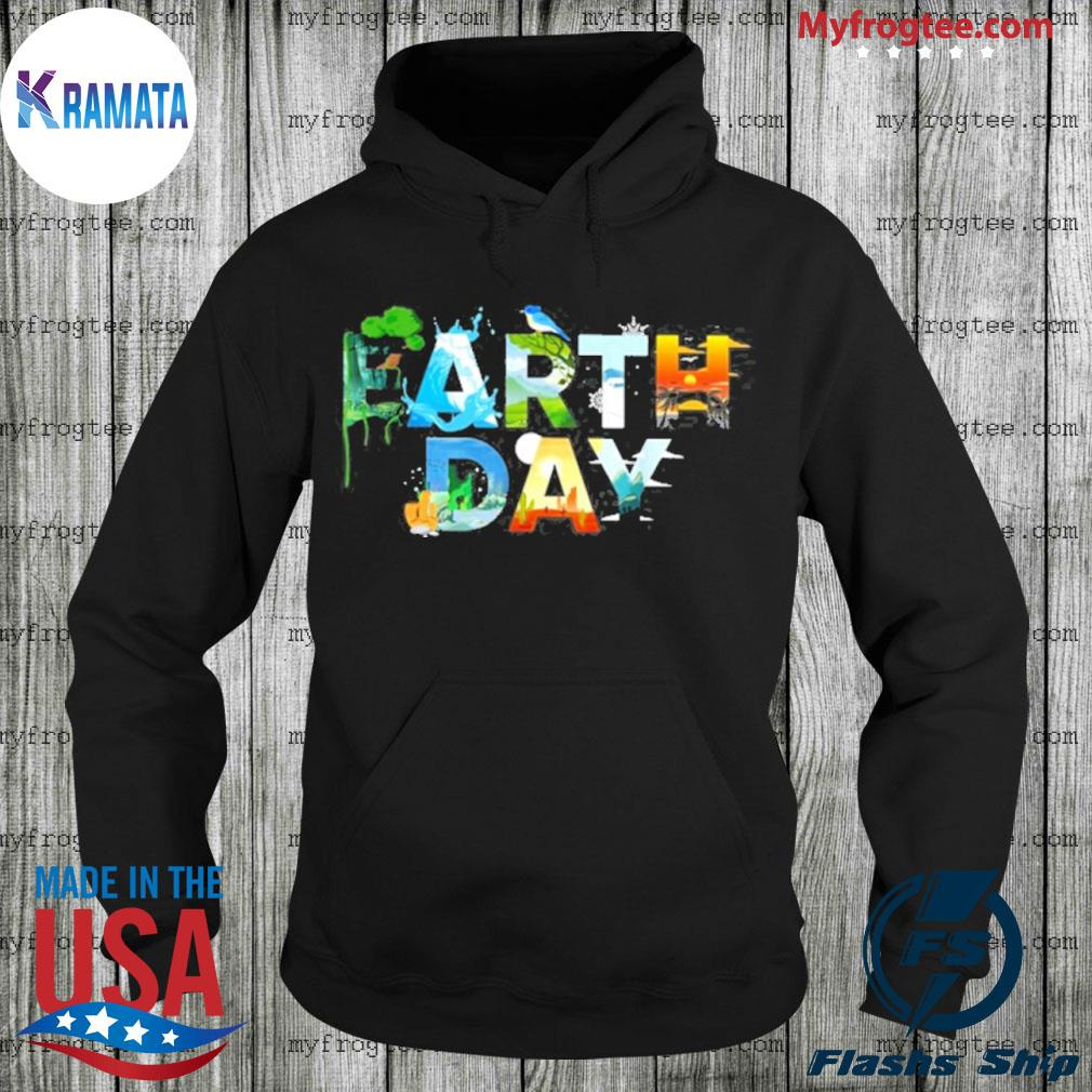 Earth day tree bird nature lover Hoodie
