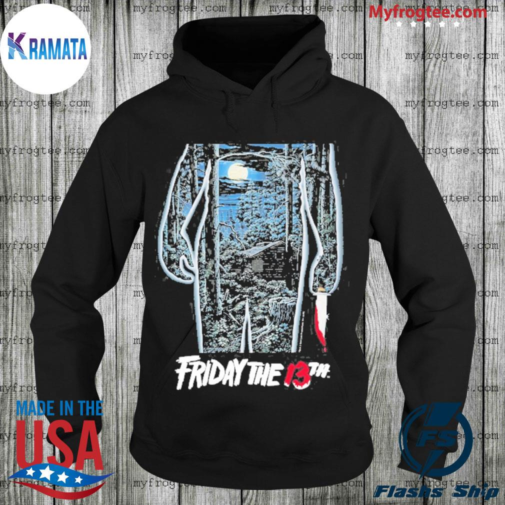 Friday the 13th movie poster Hoodie