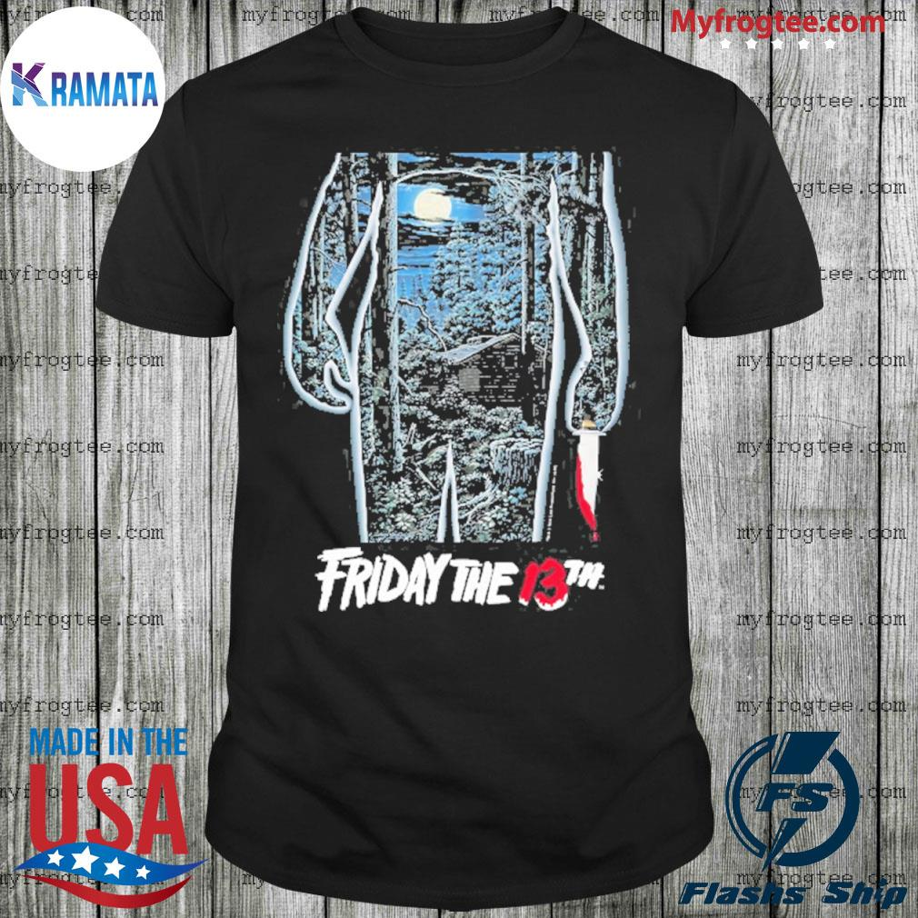 Friday the 13th movie poster shirt